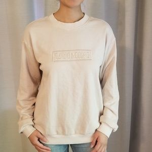 WYOMING Beige Pullover